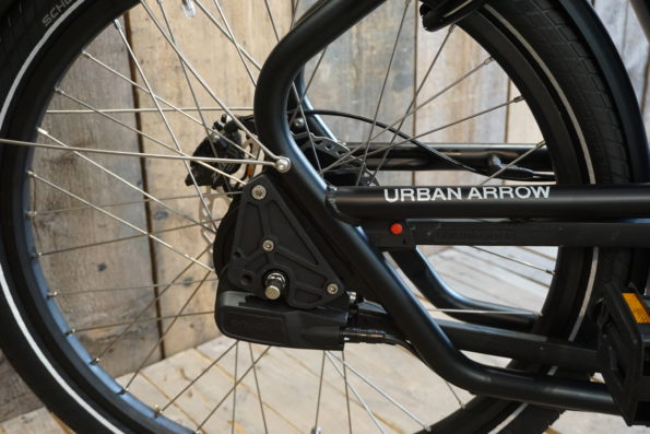Urban Arrow Schwarz Heck
