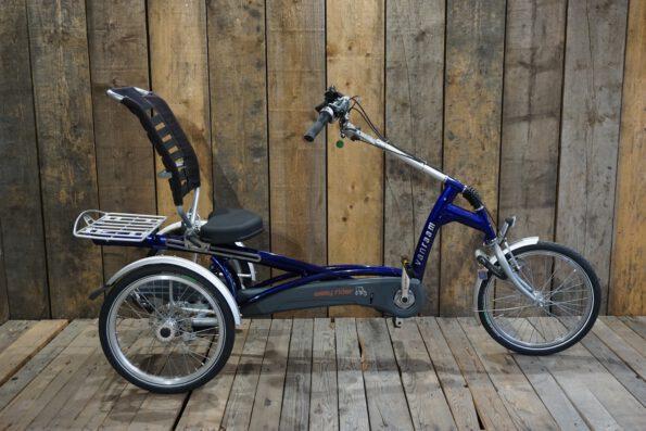 Van Raam Easy Rider blau gebraucht Profil