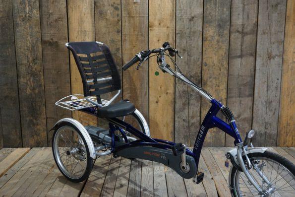Van Raam Easy Rider blau gebraucht schräg