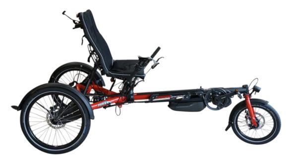 Hase Bikes Lepus Steps Rot FG