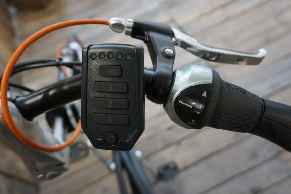 Van Raam Easy Rider Schwarz Lenker Steuerung
