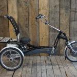 Van Raam Easy Rider Schwarz Metallic Profil