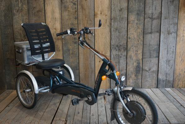Easy Rider grünblau schräg Blinker Cargo