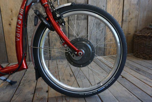 Van Raam Balance FireRed Silent Front Detail