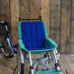 Rollfiets Blue ohne Motor Profil