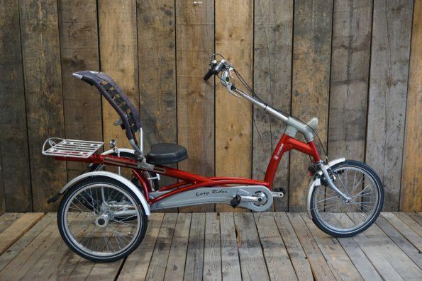 Van Raam Easy Rider rot gebraucht Profil