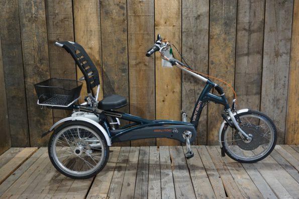 Van Raam Easy Rider ozeangrün gebraucht Profil