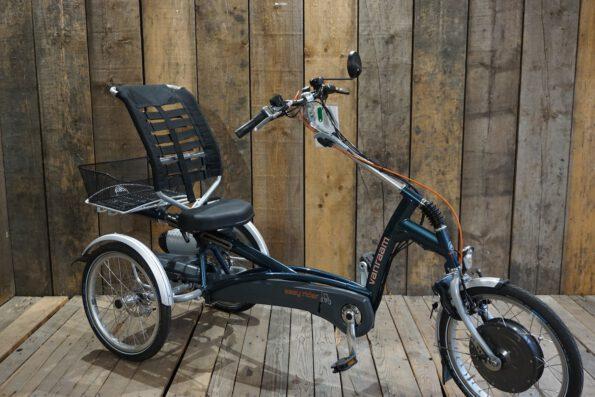 Van Raam Easy Rider ozeangrün gebraucht schräg