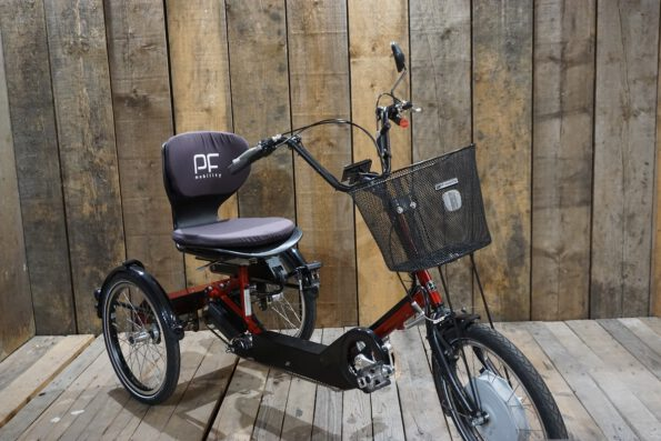 PF Mobility Disco Heinzmann DP Rot gebraucht schräg