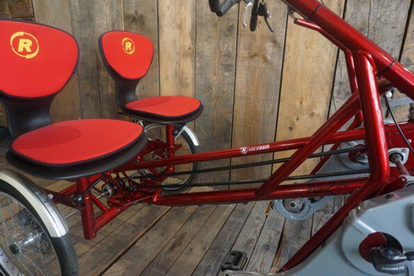 Van Raam Fun2Gop Canry Red Sitze Detail