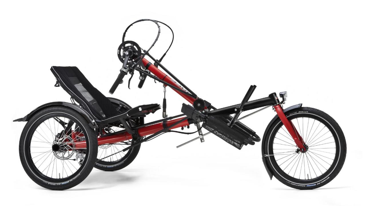 Hase Bikes - Handbike (mit Elektromotor)
