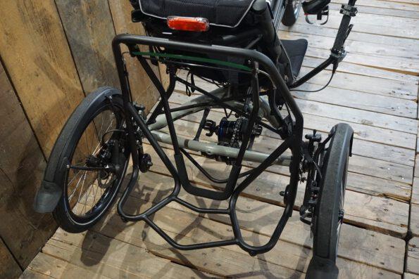 Hase Bikes Kettwiesel Evo Steps gebraucht Rack